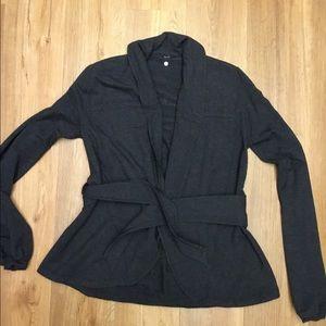 Lululemon Gray Wrap Jacket Size 4